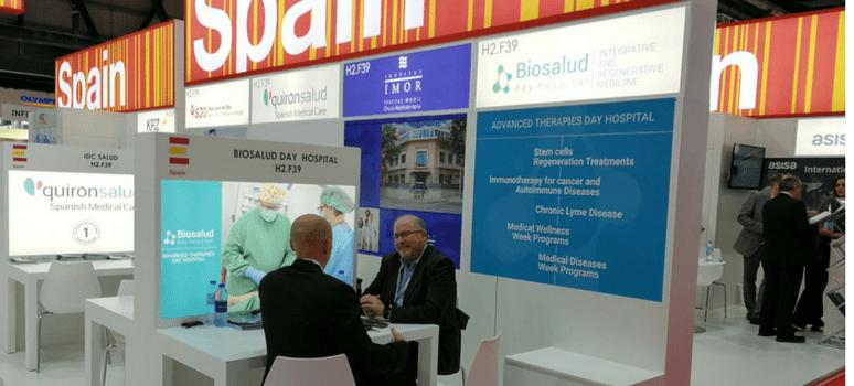 Biosalud Day Hospital participa en una de las feiras sanitarias más importantes