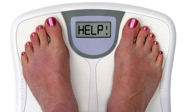 Sobrepeso en personas que comen poco