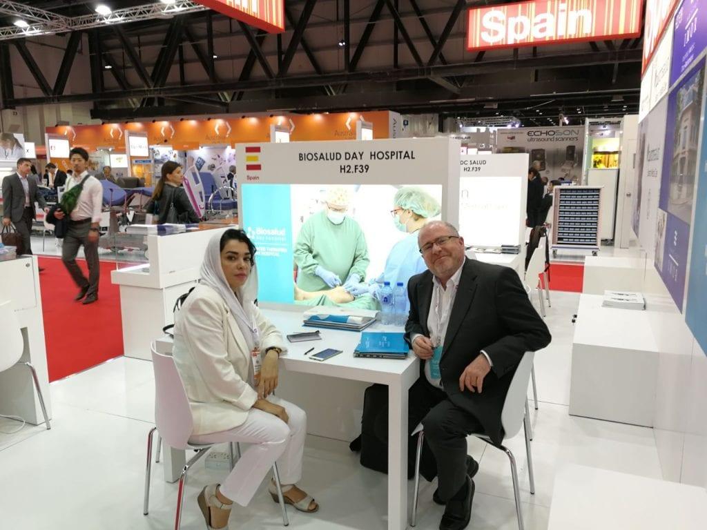 Mariano Bueno se reune con Mrs Jouma Zuratian