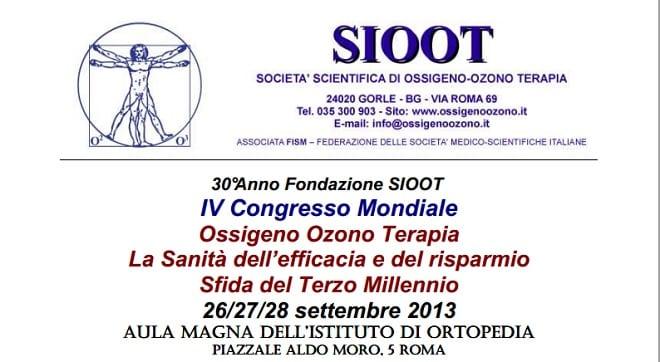 Congreso Mundial de la ozonoterapia en Roma