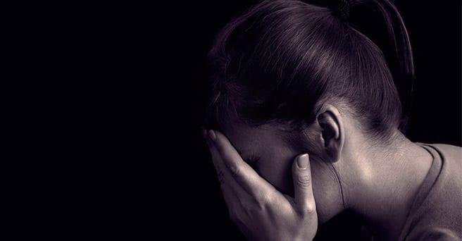 Depresión y candidiasis, mujer