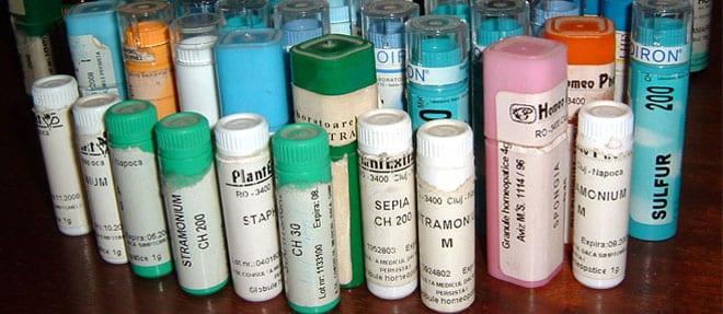 Mesoterapia homeopática. Medicamentos