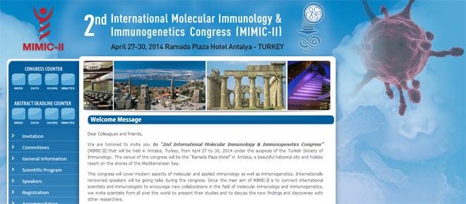 Congreso Internacional de Inmunología Molecular e Inmunogenética
