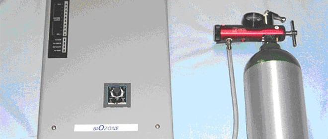 Ozono, equipo generador